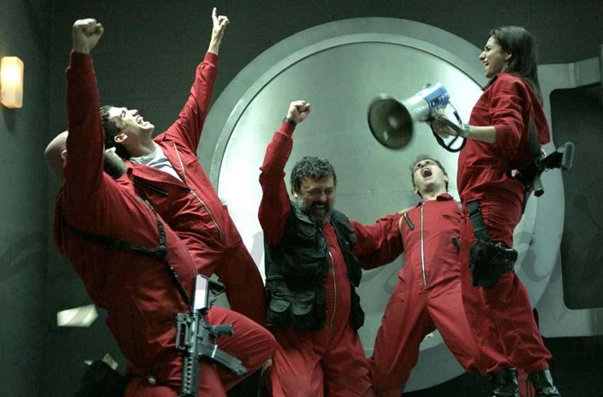 L'inclusion de Netflix a fait de La Casa de Papel un succès.  Photo: (IMDB)