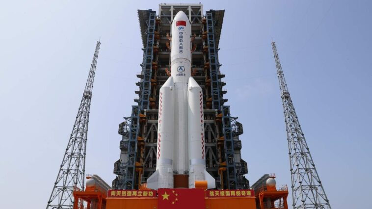 La Chine Commence à Construire Une Station Spatiale Pour Trois
