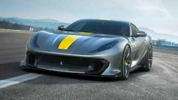 La Ferrari 812 Superfast Lance Une Nouvelle Spéciale En édition