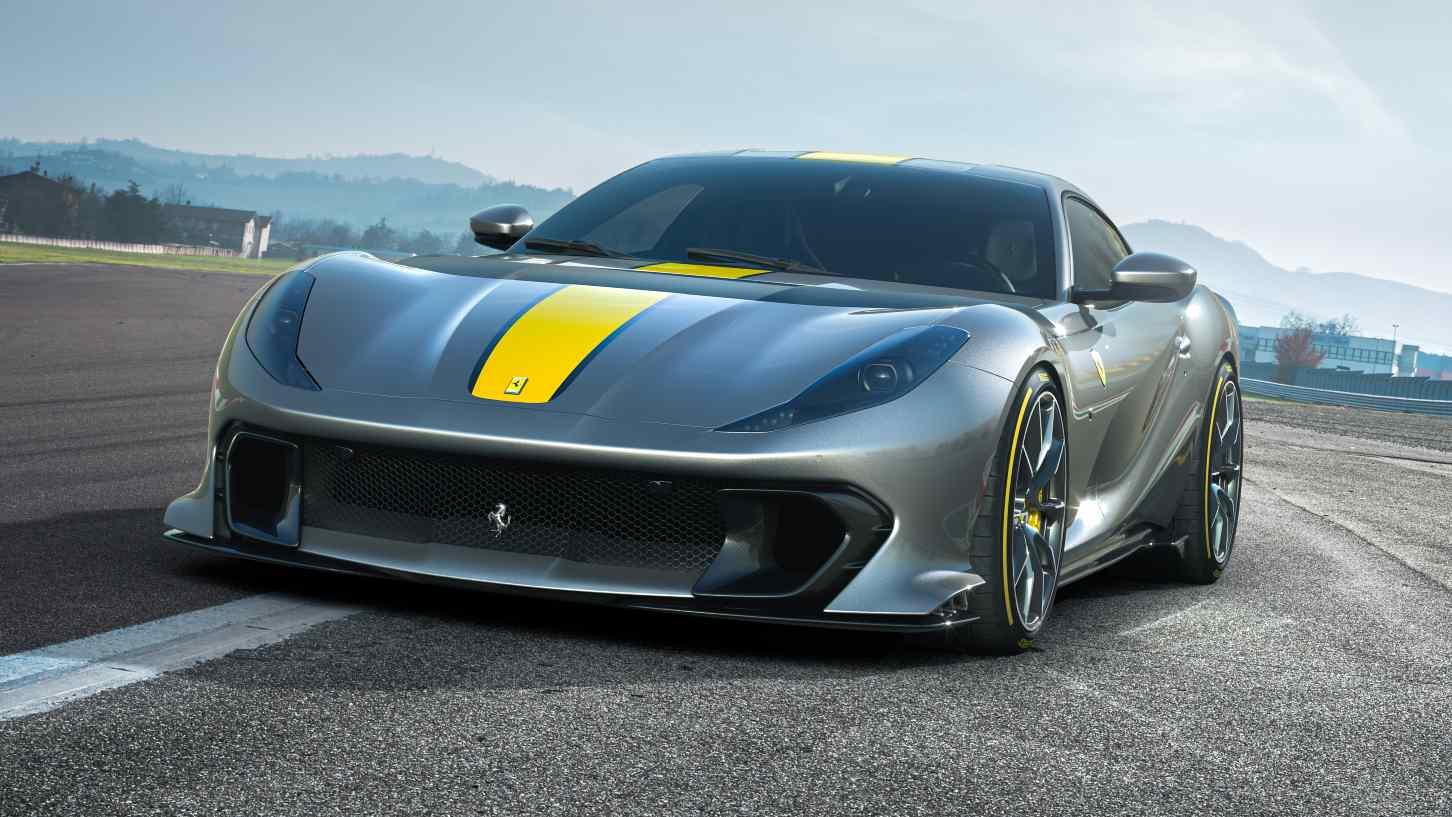 L'édition spéciale Ferrari 812 Superfast devrait avoir un temps de 0 à 100 km / h d'environ 2,5 secondes.  Image: Ferrari
