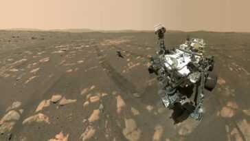 La Nasa Partage Le Selfie Du Rover Perseverance Avec Son