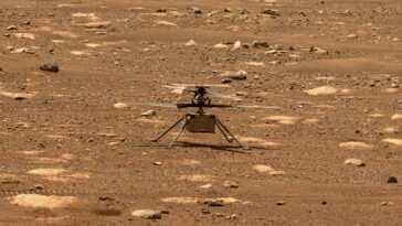La Nasa Reporte Le Premier Vol De L'hélicoptère Mars Ingenuity