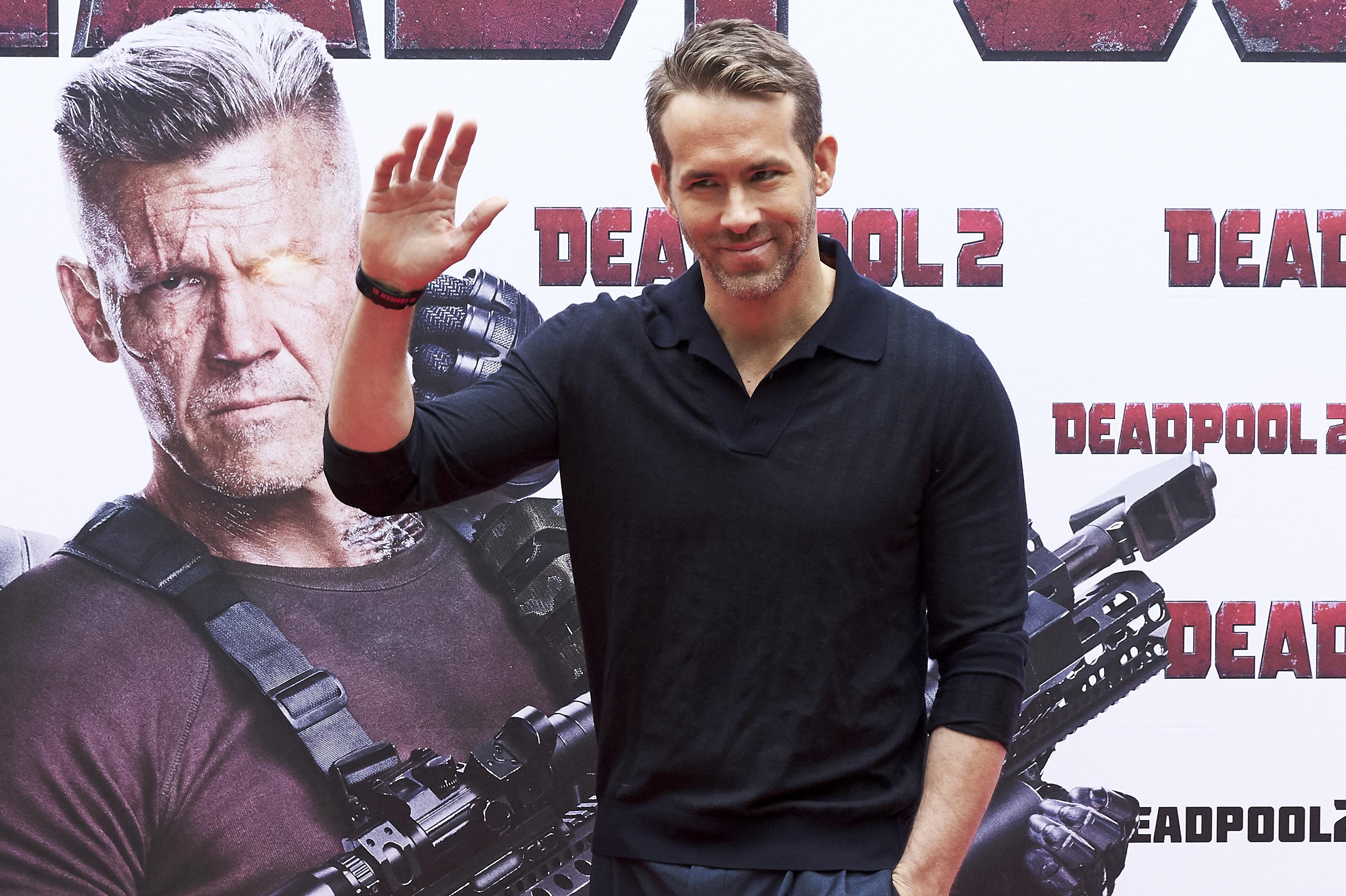 Ryan Reynolds est l'un des acteurs avec le plus de travail.  Photo: (Getty)