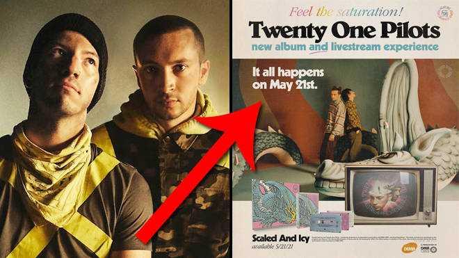 L'album Scaled And Icy De Twenty One Pilots: Tout Ce