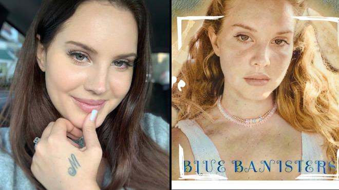 Pochette d'album de Lana Del Rey Blue Banisters
