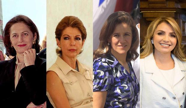 Les premières dames du Mexique témoigneront de leur vie pour la nouvelle série.  (Photo: Politico mx)