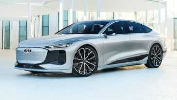 Le Concept Audi A6 E Tron Dévoilé à L'auto Shanghai 2021,