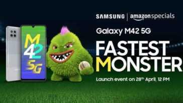 Le Lancement Du Samsung Galaxy M42 5g En Inde Est