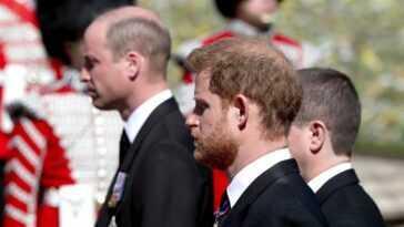 Le prince Harry rentre chez lui en Californie après avoir assisté aux funérailles du prince Philip