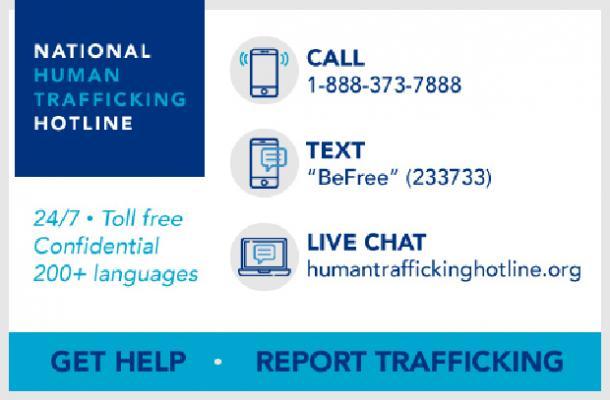 Hotline nationale contre la traite des êtres humains