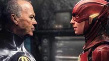 Le Retour De Batman De Michael Keaton Dans Le Flash