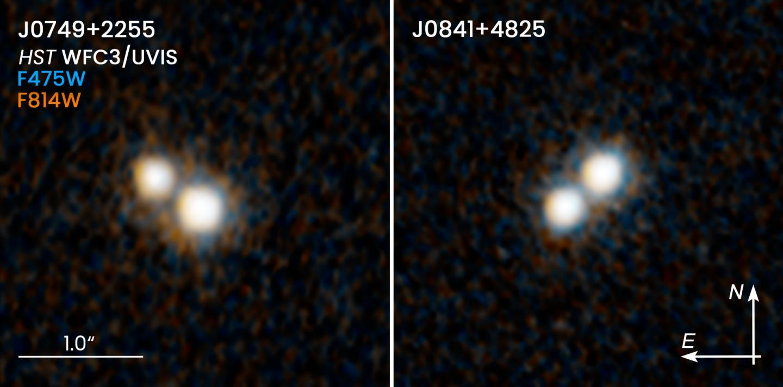 hubble image double quasar