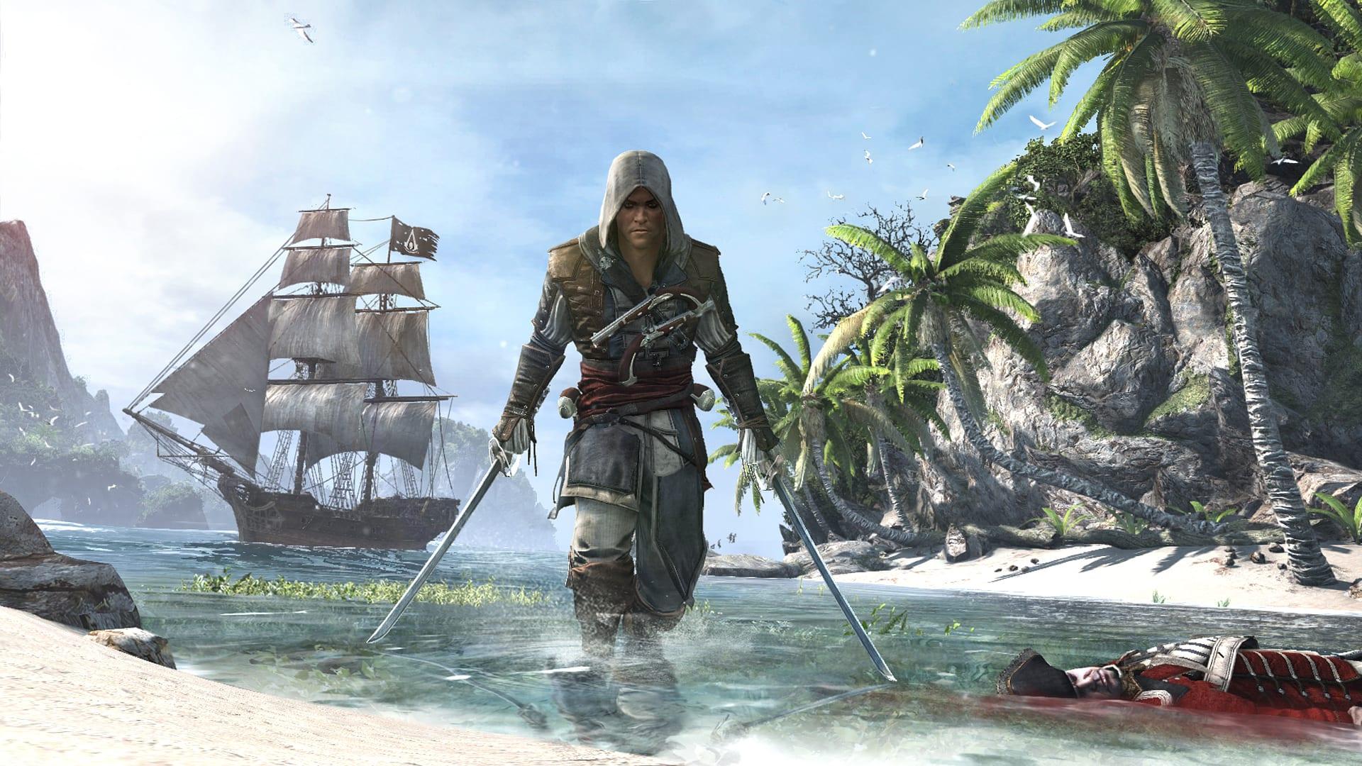 Assassin's Creed 4 Black Flag Beach