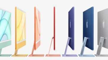 Les Apple iMac (2021) sont renouvelés: ils disposent d'une puce M1, d'une webcam 1080p et d'un design externe surprenant et joyeux