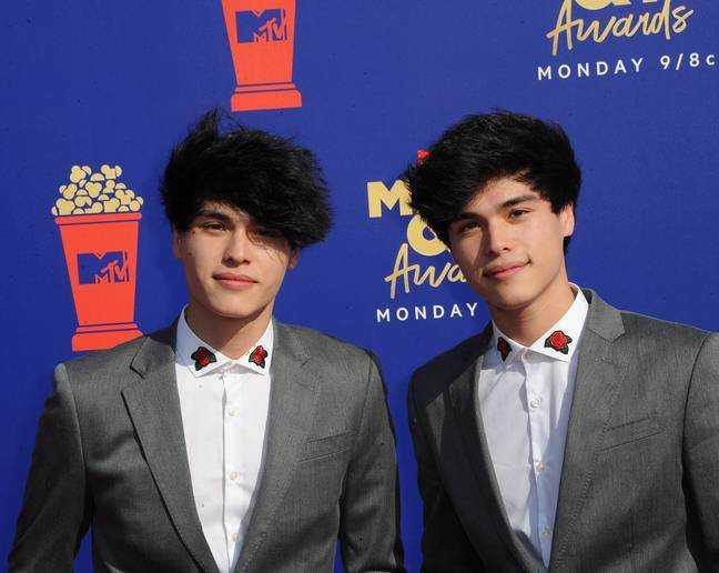 Alan (à gauche) et Alex Stokes.  Crédit: PA