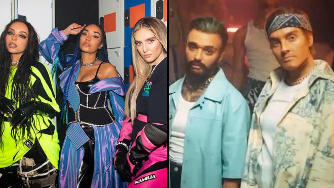 Little Mix joue en tant qu'alter-ego masculins avec les stars de Drag Race UK dans la vidéo Confetti