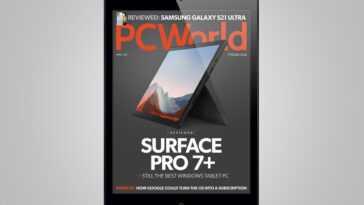 Magazine Numérique D'avril De Pcworld: Surface Pro 7+ Revue