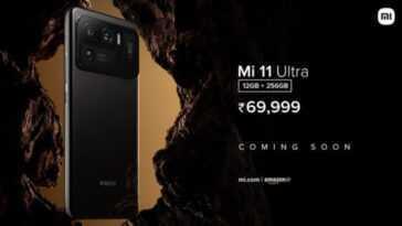 Mi 11 Ultra 12 Go De Ram Et Une Variante