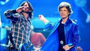 """Mick Jagger Et Dave Grohl Font Leurs Débuts Ensemble: """"eazy"""