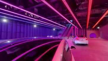 Musk a promis des voitures de 240 km / h dans son tunnel révolutionnaire de Las Vegas: la réalité est que (pour l'instant) elles roulent à 50 km / h