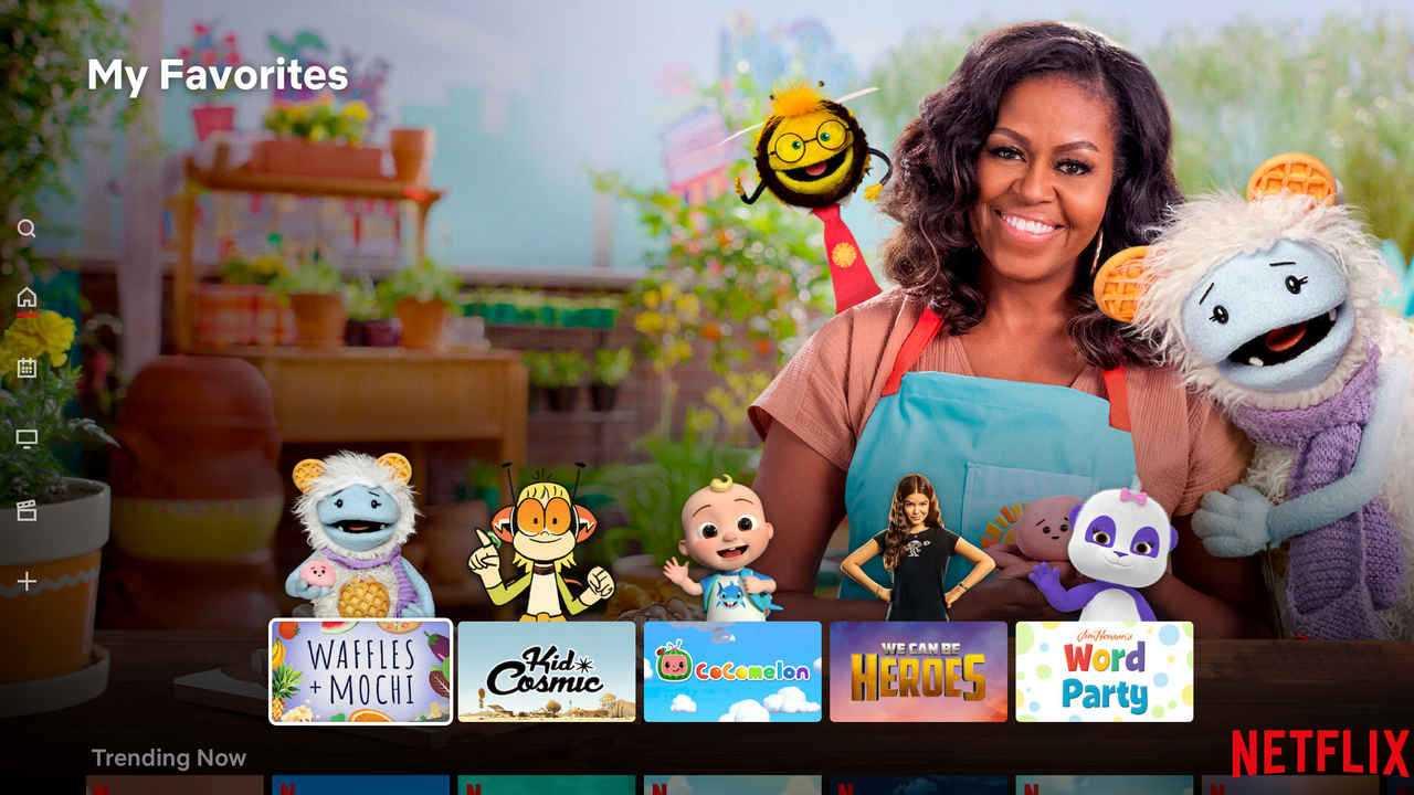 Netflix repense le profil des enfants pour afficher les titres et les personnages les plus regardés sur la page d'accueil