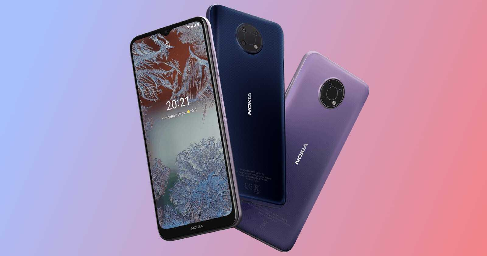 Nokia G10 et Nokia G20