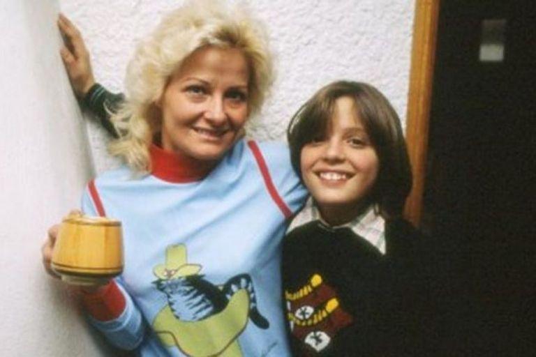 Luis Miguel et sa mère.