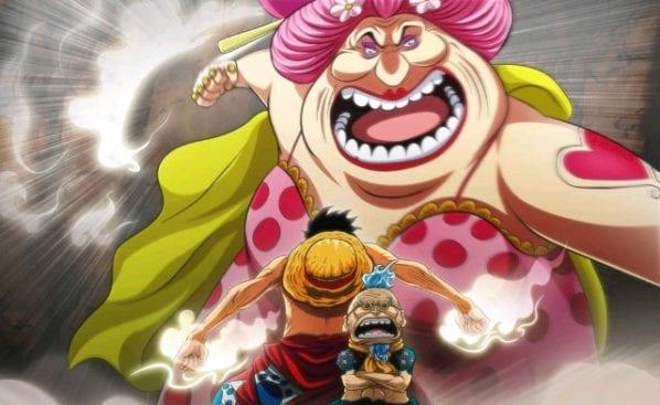 One Piece, Anime, Big Mom contre Luffy