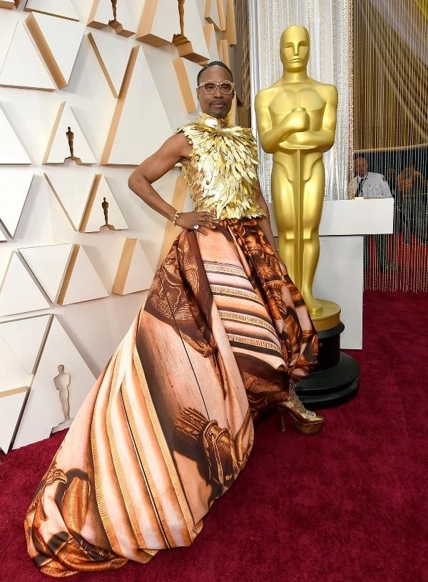 Billy Porter aux Oscars 2020. Photo: (Getty)