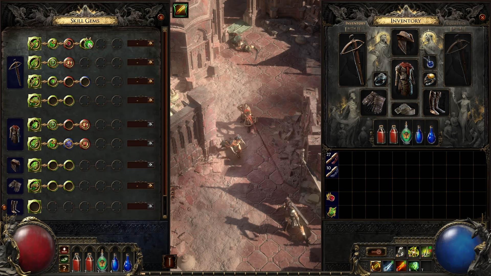 Path of Exile 2 - Nouveau système de gemmes