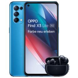 Trouver le X3 Lite 5G avec Enco X bleu vue de face 1