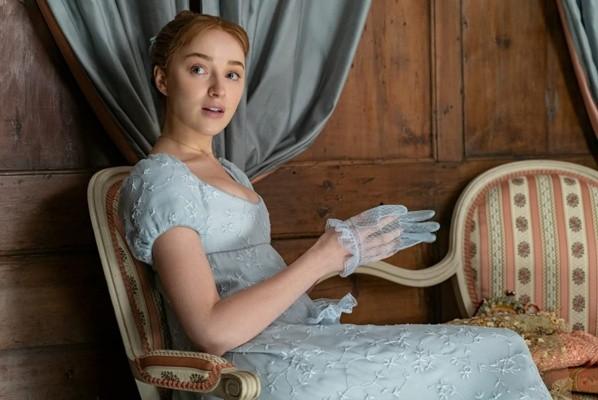 Phoebe Dynevor comme Daphné à Bridgerton.  Photo: (IMDB)