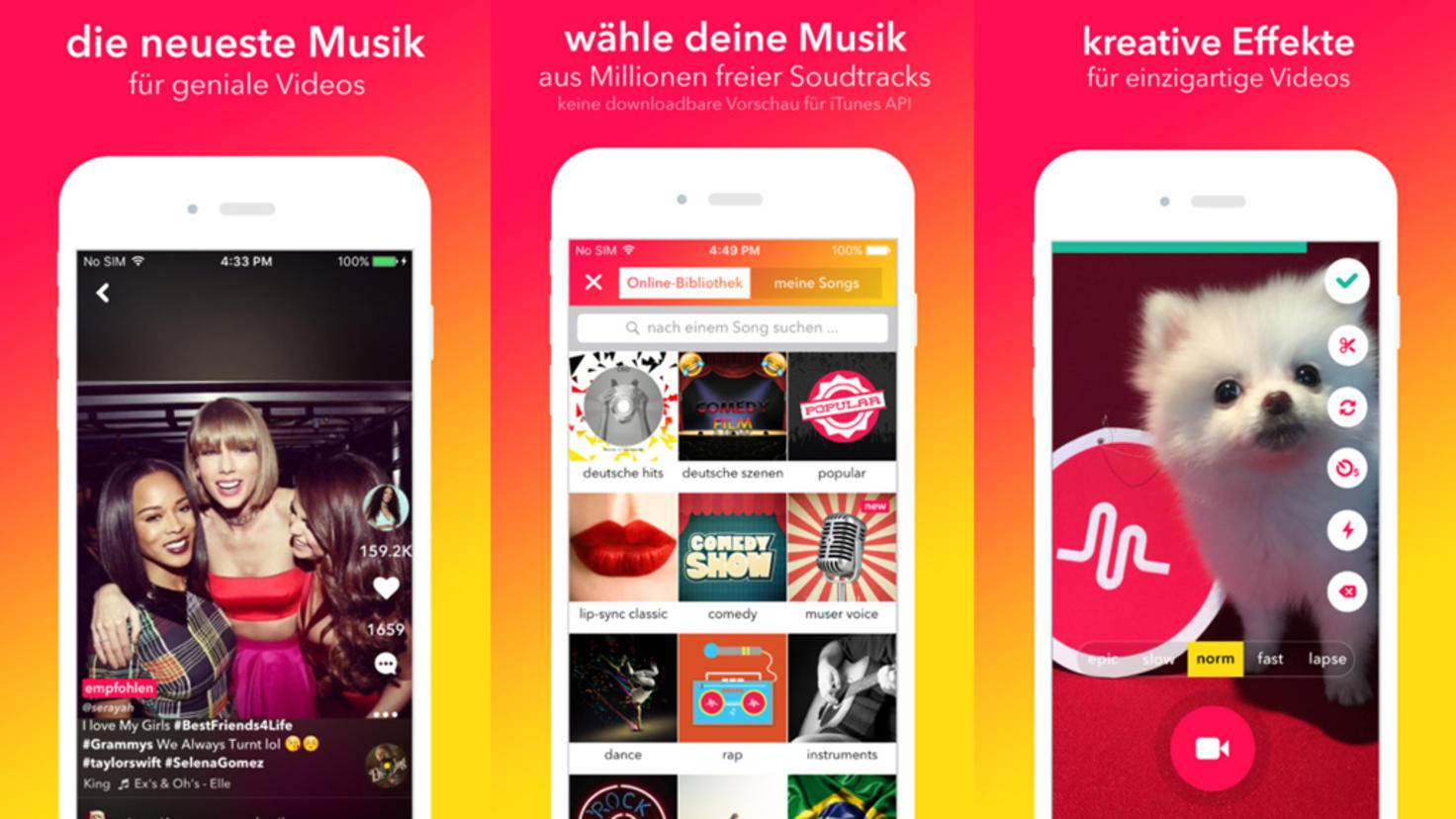 Application Musical.ly