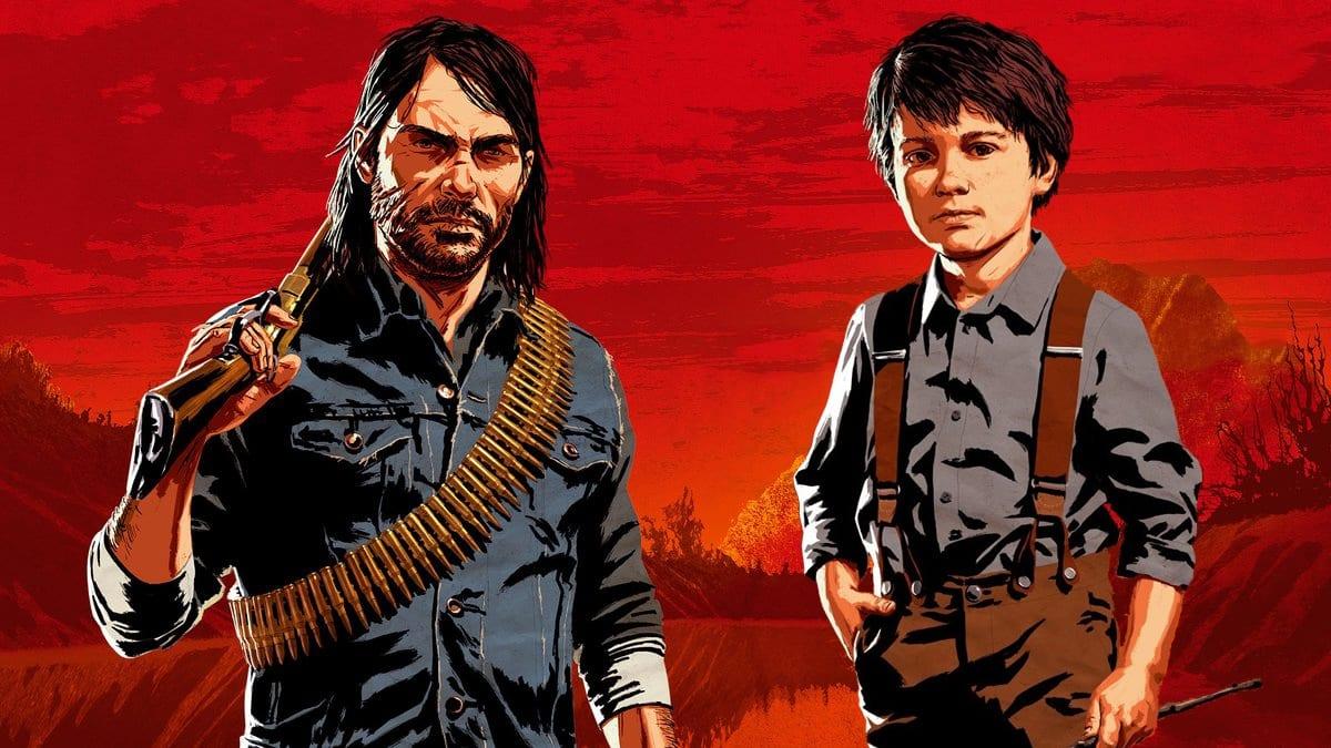 Red Dead Redemption 2 John et Jack Marston