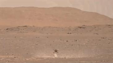Regardez L'ingéniosité De L'hélicoptère Mars De La Nasa Soulever La