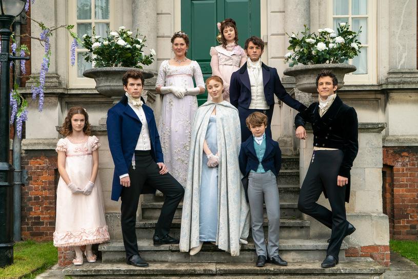 La famille Bridgerton.  Photo: (IMDB)