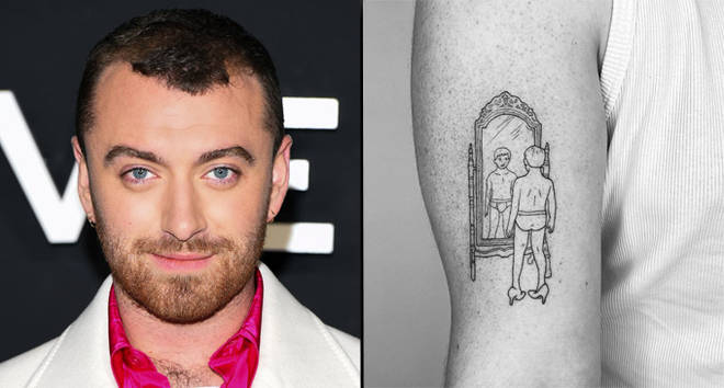 Sam Smith lance un nouveau tatouage rendant hommage à l'identité non binaire