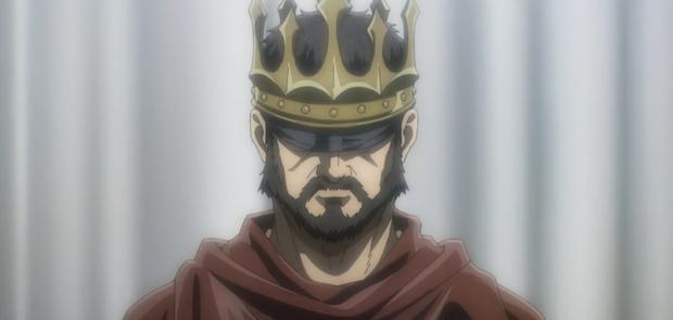 Le roi Fritz est celui qui a vraiment mis fin à la guerre des Eldiens (Photo: Studio Mappa)