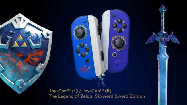 Skyward Sword Joy-Cons pour Nintendo Switch