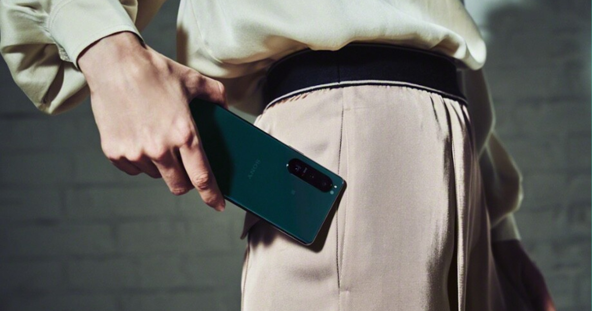 Sony Xperia 5 III vert