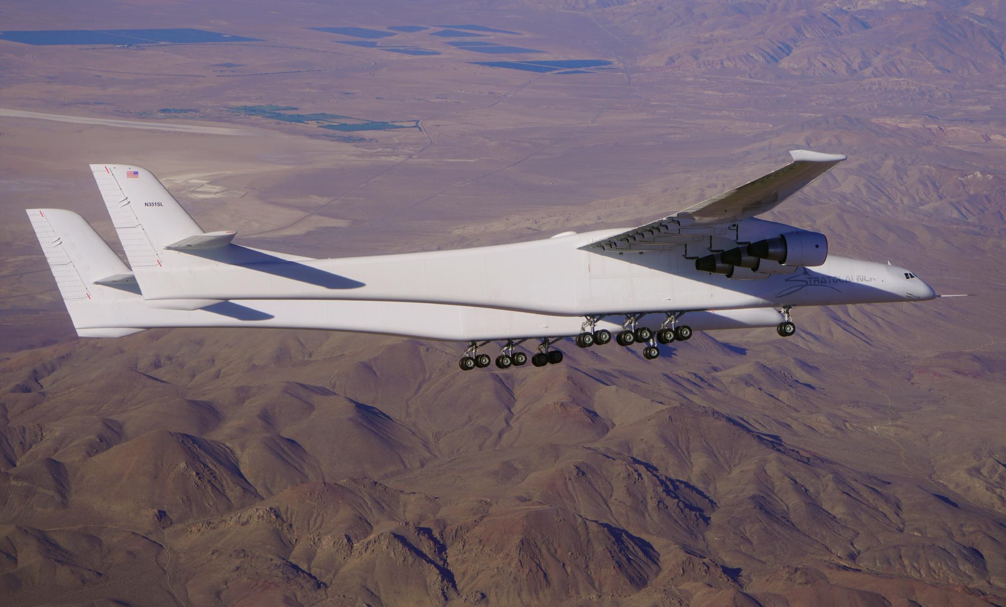 Roc, que Stratolaunch utilisera pour lancer des véhicules hypersoniques, est resté en l'air pendant plus de trois heures sur le vol du 29 avril.