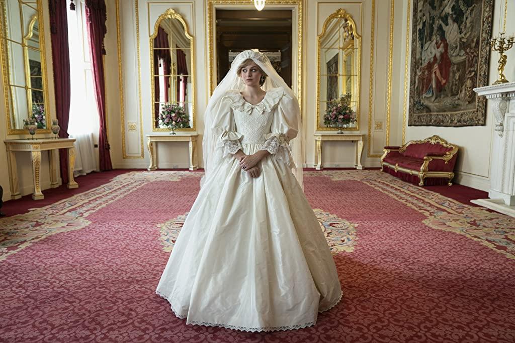 Emma Corrin a joué le rôle de Lady Di à Buckingham.  Photo: (IMDB)
