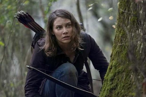 """Maggie est revenue dans les derniers épisodes de la saison 10 de """"The Walking Dead"""" (Photo: AMC)"""
