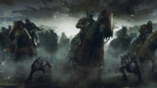 La série The Witcher Wild Hunt Netflix
