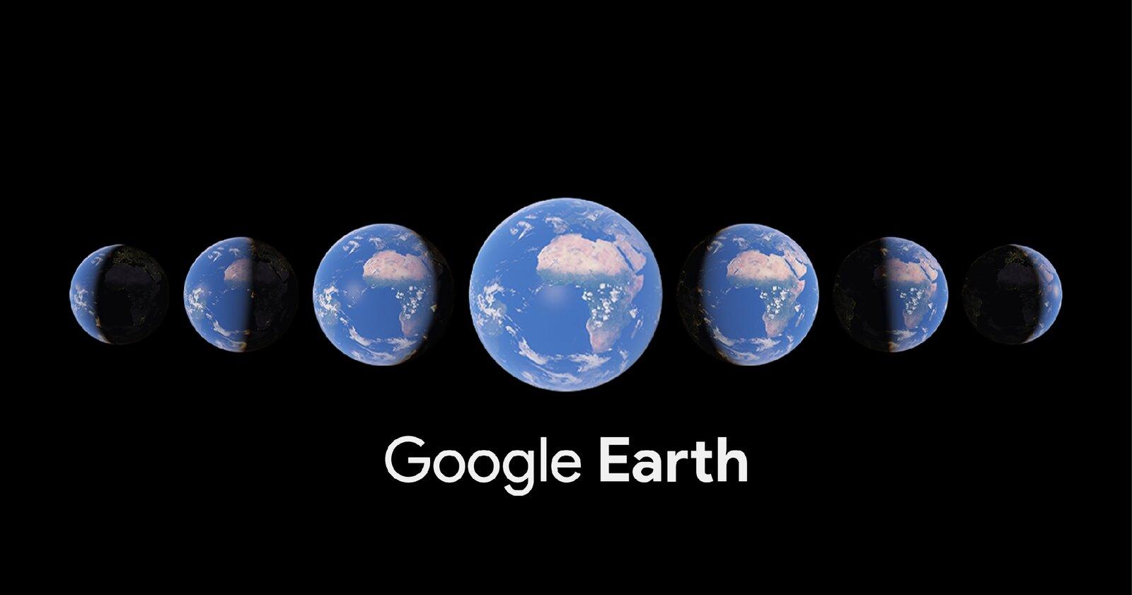 Laps de temps dans Google Earth