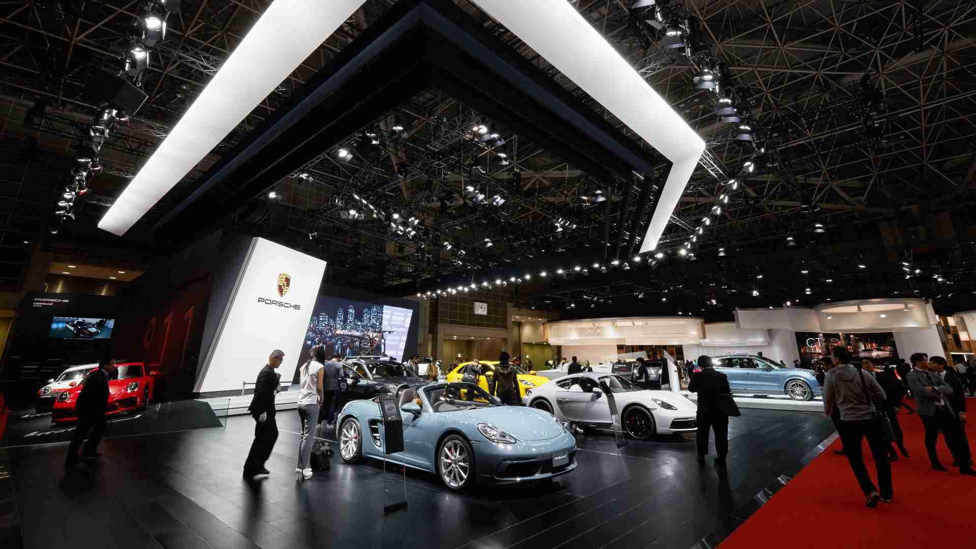 La décision d'annuler le salon de l'automobile de Tokyo 2021 intervient à un moment où le Japon a annoncé un état d'urgence de trois semaines dans quatre préfectures.  Image: Presse