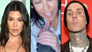 Travis Barker Partage Une Vidéo Nsfw De Kourtney Kardashian En