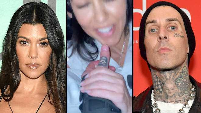 Travis Barker partage une vidéo NSFW de Kourtney Kardashian en train de sucer son pouce