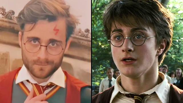 Un Sosie De Harry Potter Publie Des Pièges à Soif