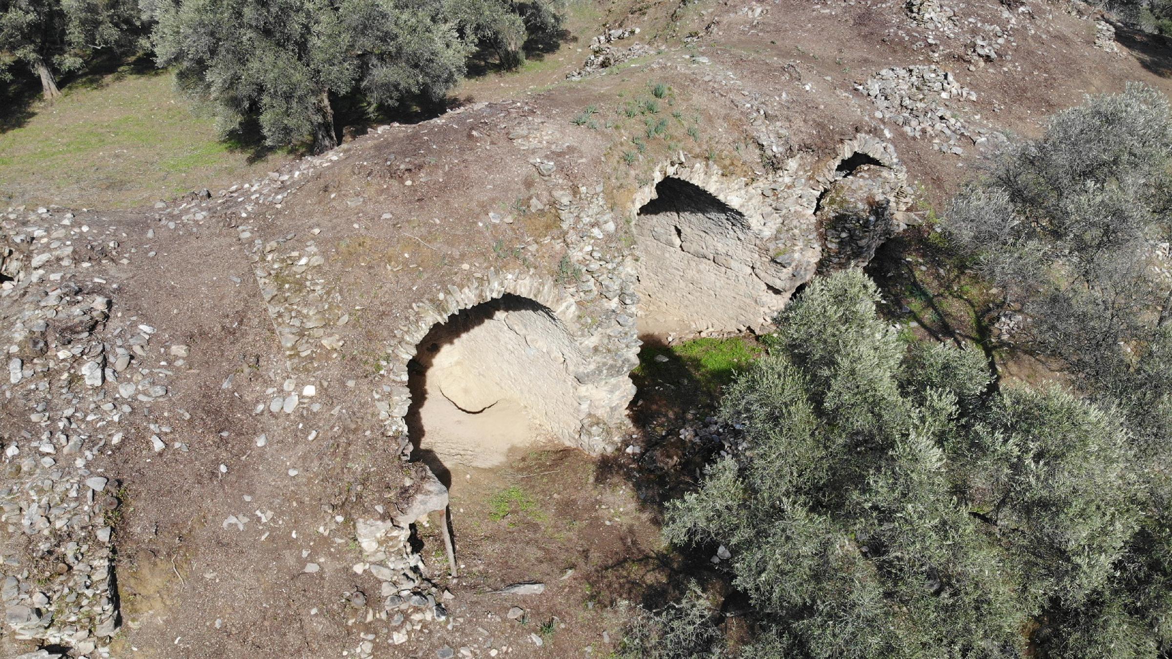 Les arches de l'arène vieille de 1 800 ans sont toujours debout.